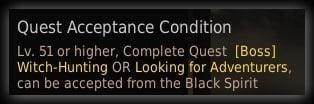 quest requirements