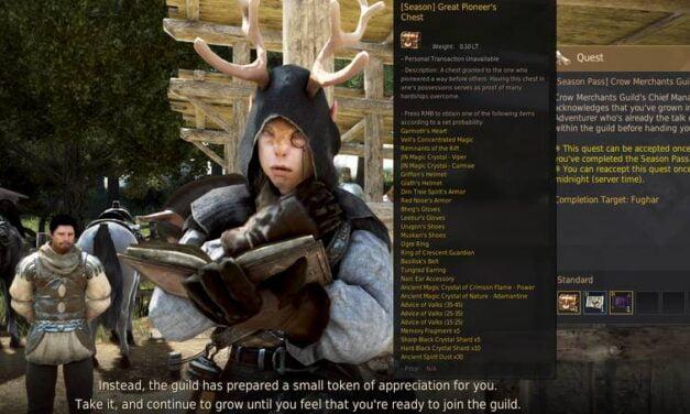 Crow Merchants Guild Contribution Certificate