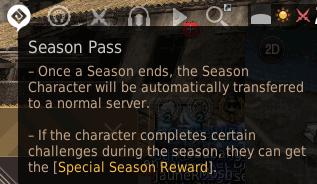 BDO Season Pass