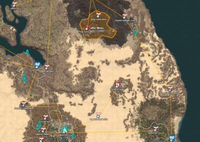 sulfur mines map