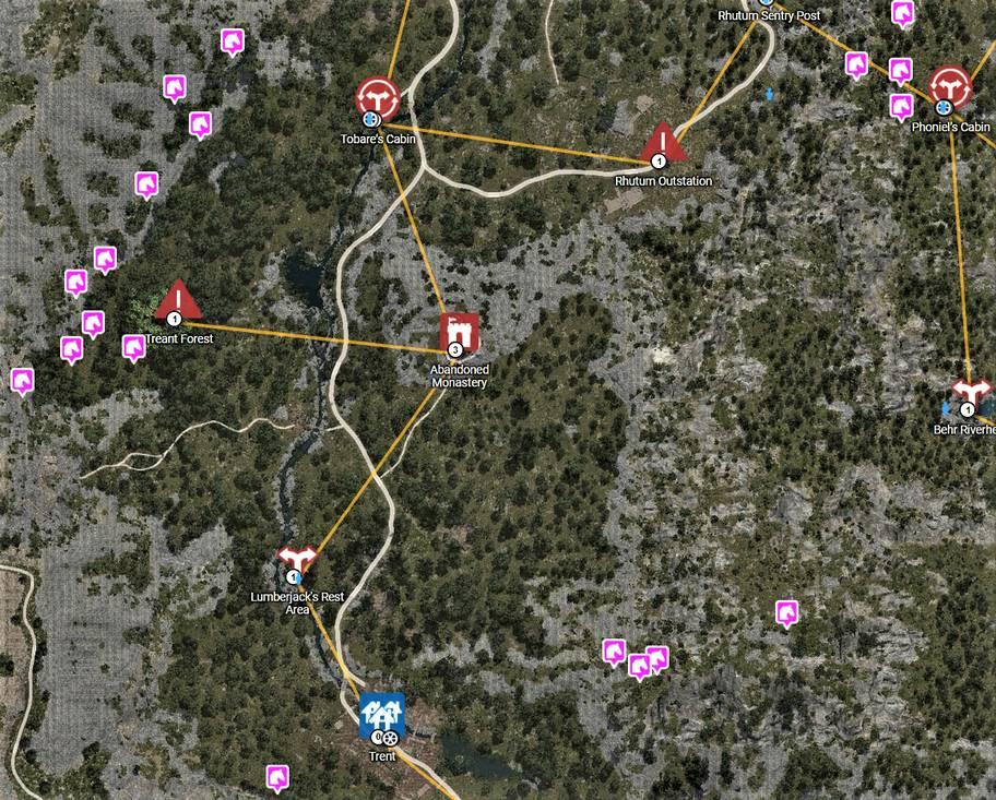 BDO Horse Locations Near Trent